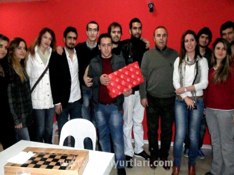 Konya Yurtlarımız Tavla-Satranç Şampiyonlarımız