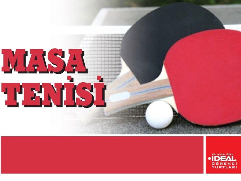 2. Dönem Masa Tenisi Turnuvası
