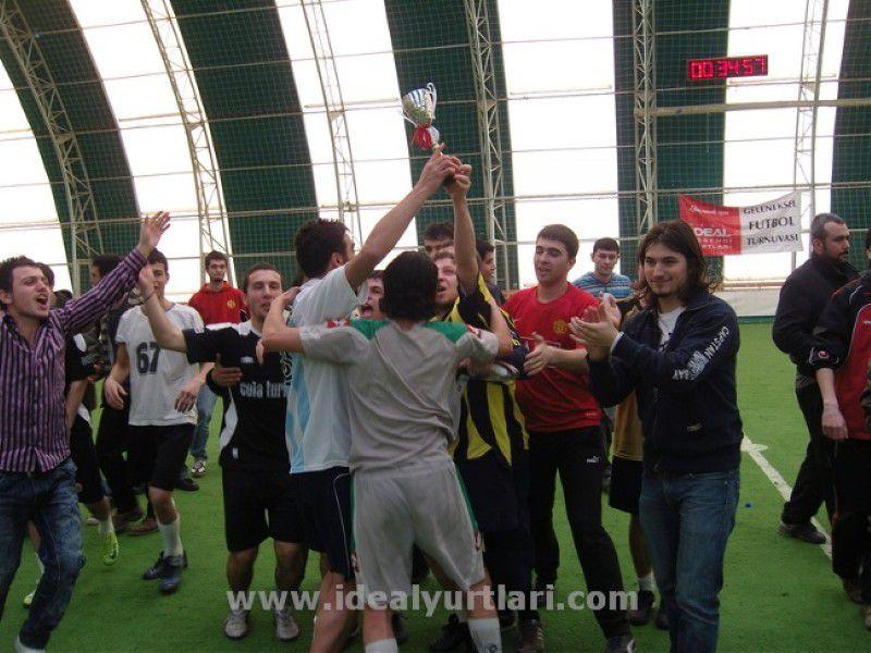 2008-2009 İdeal Futbol Turnuvası Şampiyonumuz