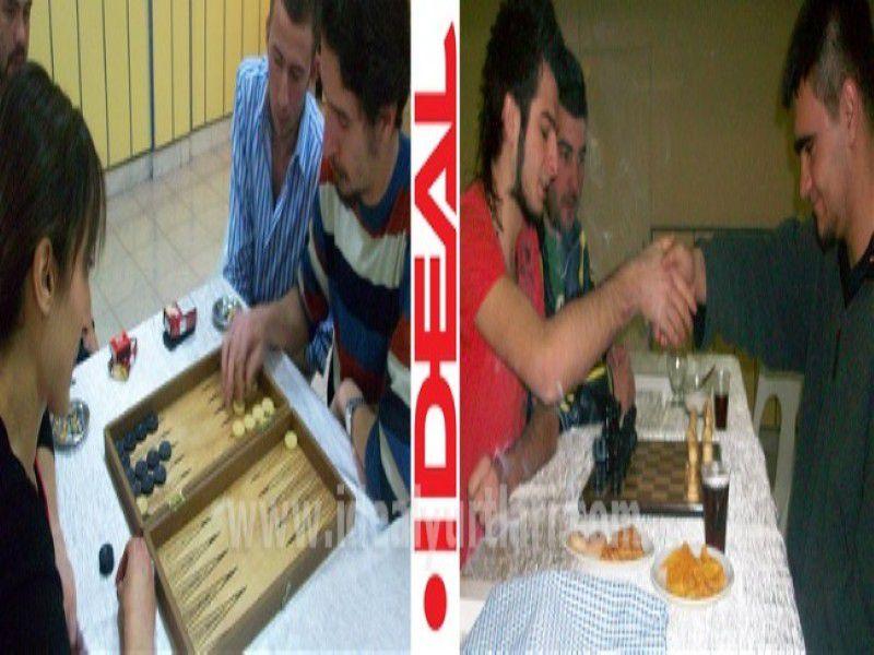 2008-2009 Konya Yurtlamızın Tavla ve Santraç Turnuvası Şampiyonları...