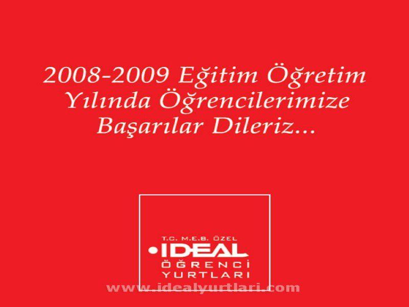 2008-2009 Yılında Öğrencilerimize Başarılar Dileriz