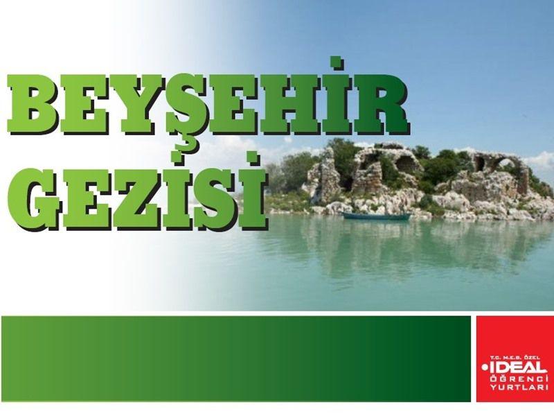 2. Dönem Beyşehir Gezisi