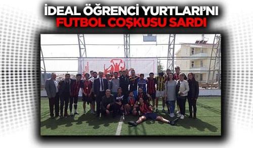 İdeal Öğrenci Yurtları'nı Futbol Coşkusu Sardı