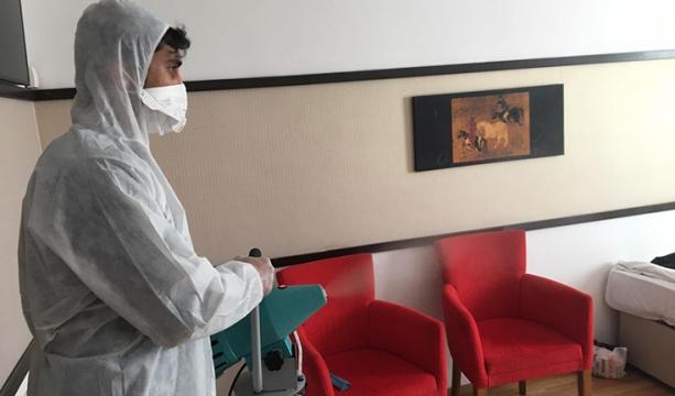 İdeal'de bakterilere Karşı dezenfeksiyon